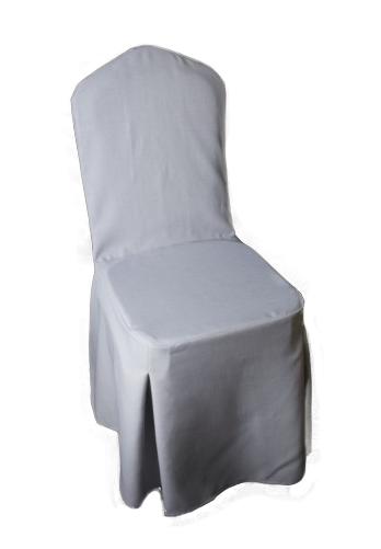 Návlek Na Stoličky Sivý