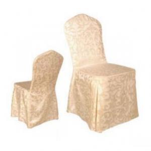 Návlek na stoličku zlatý