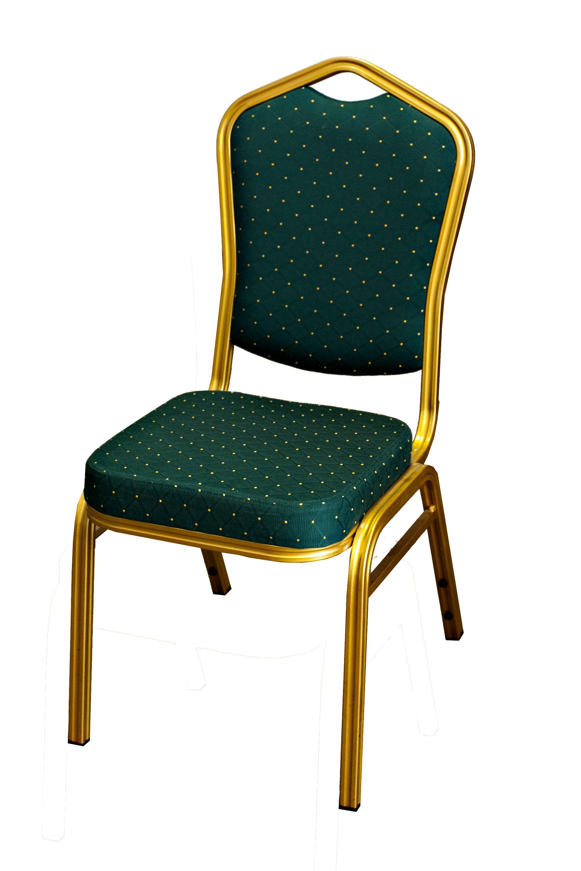 Cateringová banketová stolička zelená
