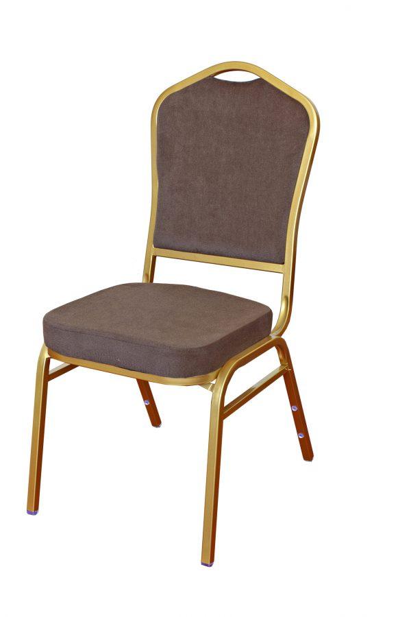 Cateringová banketová stolička šedá