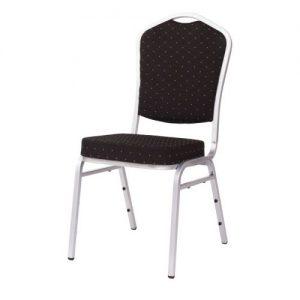 Cateringová banketová stolička čierna