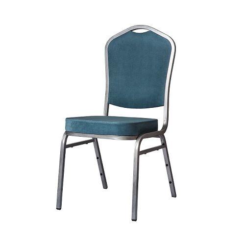 Cateringová banketová stolička tyrkysová