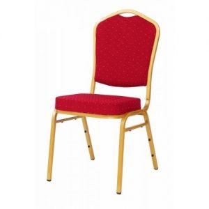 Cateringová banketová stolička červená