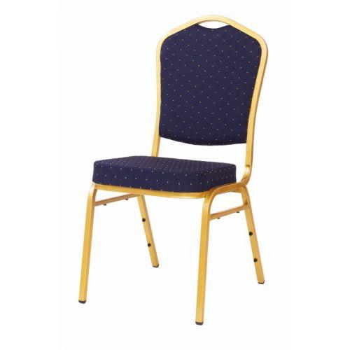Cateringová banketová stolička modrá