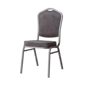 Cateringová banketová stolička grafit