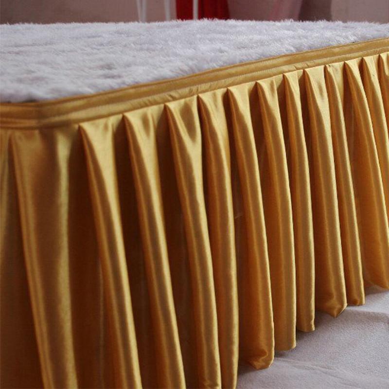 Banketová sukňa zlatá