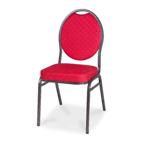 Cateringová banketová stolička eco červená