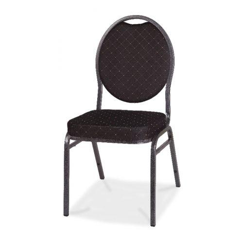 Cateringová banketová stolička eco čierna