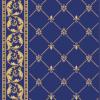 Modry koberec detail-2